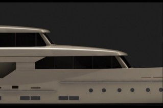 Logica 98 yacht detail