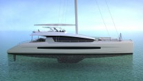 Long Island 100 superyacht - side view
