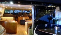 Low Profile -  Salon from Aft Deck