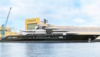 Lurssen Launches Project Thunder. Photo credit Klaus Jordan