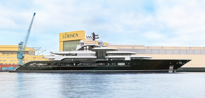 120m+ Motor Yacht Project Thunder