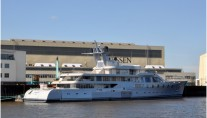 Lurssen Superyacht Pacific - Photo credit to Martin Groothuis
