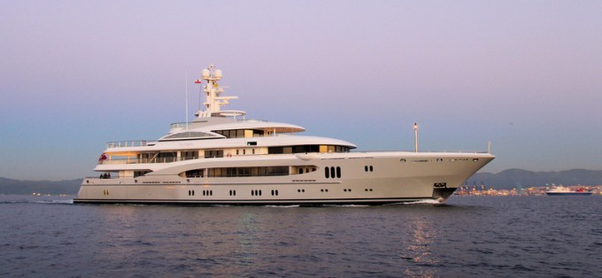 Motor Yacht GLOBAL (ex Kismet, Project Falcon, hull 13641)