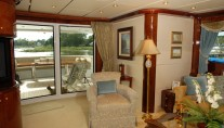 Luxurious Interior on board the super yacht prestige-lady