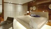 Luxurious cabins aboard Smeralda superyacht