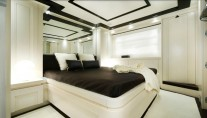 Luxurious cabins aboard the superyacht Navetta 26 by Filippetti Yachts