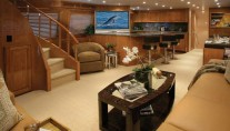 Luxurious-interior-aboard-Hatteras-77-yacht