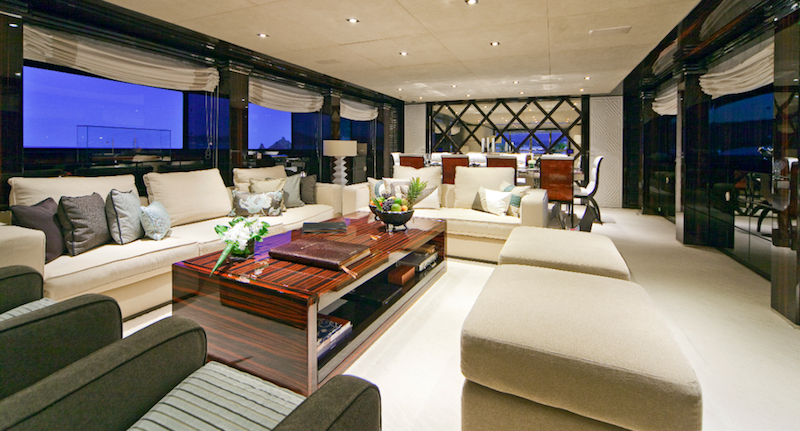 Luxury charter yacht manifiq main salon interior by luca for Interior design wikipedia