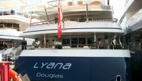 Luxury Motor Yacht LYANA at the 2012 MYS