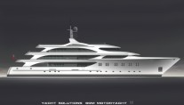 Luxury SuperYacht Fox - Image courtesy of Yacht Solutions