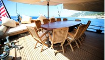 Luxury Turkish Gulet Grande Mare (ex Carmina) - Al fresco dining