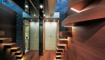 Luxury Yacht O by Sanlorenzo - stairs