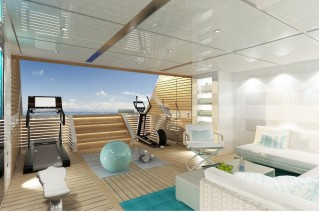 Luxury Yacht RAZAN - gym