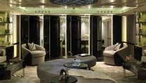 Luxury charter motor yacht CANDYSCAPE II salon