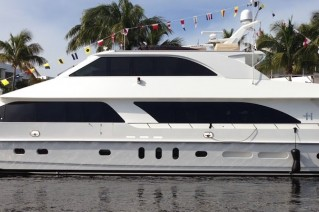 Luxury motor yacht Adventure Us II - side view - Image credit to Hargrave Custom Yachts.JPG