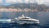 Luxury motor yacht Aslec 4 designed by Studio Spadolini
