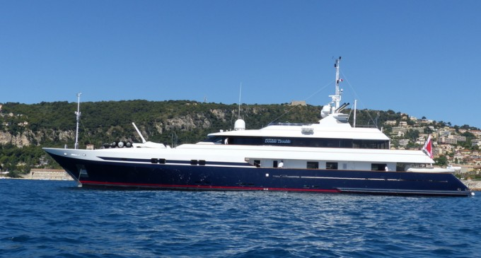 Motor Yacht DOUBLE TROUBLE (ex Turquoise, La Naturalle Dee)
