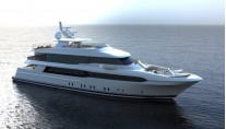 Luxury motor yacht Hull 146-27 by Crescent Custom Yachts