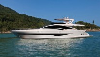 Luxury motor yacht Intermarine 95