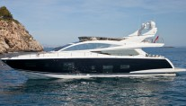 Luxury motor yacht Pearl 75 by Pearl Motor Yachts