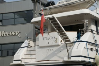 Luxury motor yacht Tita One