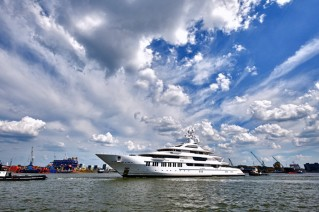 Luxury motor yacht Y710 by Oceanco