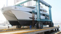 Luxury power catamaran yacht Quaranta for Curvelle