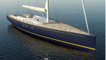 Luxury sailing yacht Hull 1012