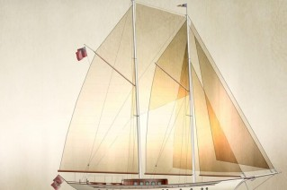 Luxury sailing yacht Imagination