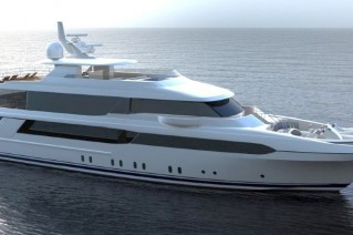 Luxury super yacht Crescent 144