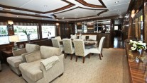 Luxury superyacht Donna Marie - Salon