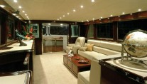 Luxury superyacht Emerald Lady - Salon