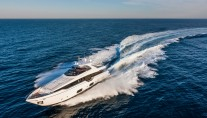 Luxury superyacht Ferretti 960