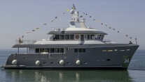 Luxury superyacht GRA NIL - side view