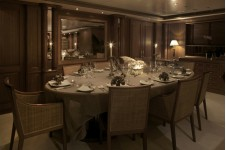 Luxury superyacht JO - Dining