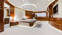 Luxury superyacht Vellmari - Owner suite - Copyright- Alberto Cocchi