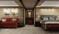 Luxury yacht 460Exp-115 VIP stateroom