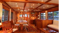 Luxury yacht Acadia - Saloon Photo by Billy Black