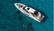 Luxury yacht Alpha 76 Express - view from above Photo by Forest Johnson