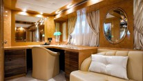 Luxury yacht Amer 100 - Studio