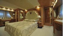 Luxury yacht Amer 92 - Owners Cabin