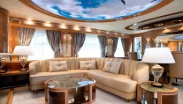 Luxury yacht AmerCento - Saloon
