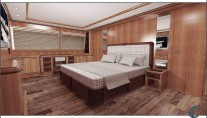 Luxury yacht Angra Too - Master Suite