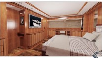 Luxury yacht Angra Too - Owner Stateroom