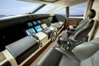 Luxury yacht Azimut Grande 120SL - Wheelhouse