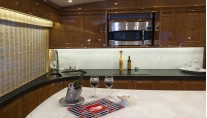 Luxury yacht Blank Check - Galley