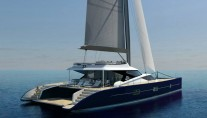 Luxury yacht Blue Coast 101 DD - aft view