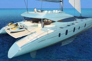 Luxury yacht Blue Coast 78