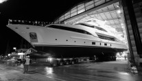 Luxury yacht DYNA launched