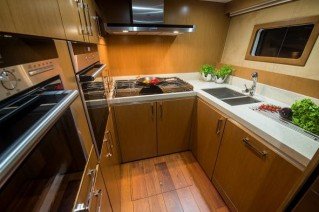 Luxury yacht ETTY - Galley